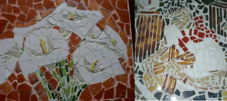 primeros mosaicos....