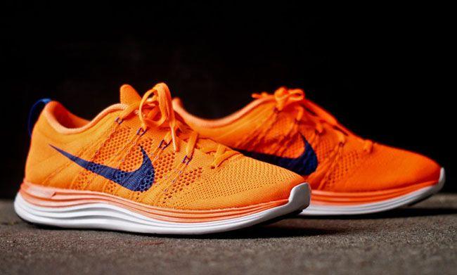 "Nike Flyknit Lunar 1+ ""Total Orange"" | KicksOnFire.com"