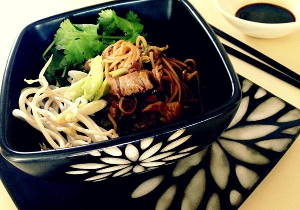 Pork and mushroom noodle bowl - http://hometalk.homechoice.co.za/content/pork-and-mushroom-noodle-bowl