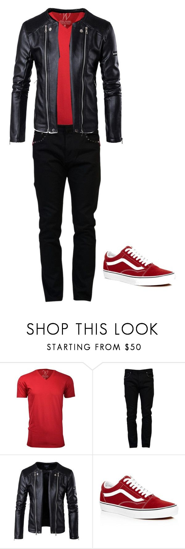"""Finn Lunch Outfit"" by greekofreako ❤ liked on Polyvore featuring Ethan Williams, Valentino, Vans, men's fashion and menswear"