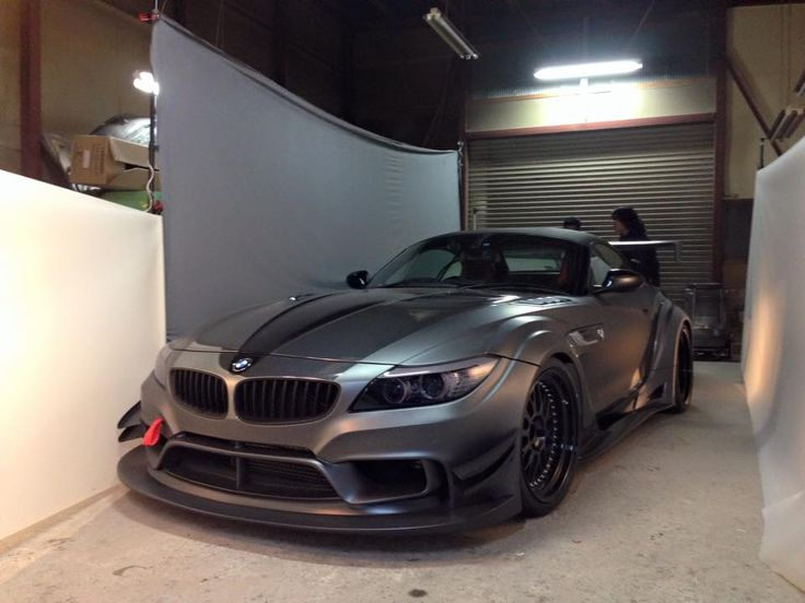 Such a bad ass looking BM. Varis Japan BMW Z4 Widebody GT Anniversary Edition