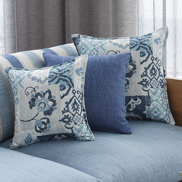 Warwick Fabrics: ANKARA collection / cushions / upholstery fabric / inspired by vintage Turkish rugs