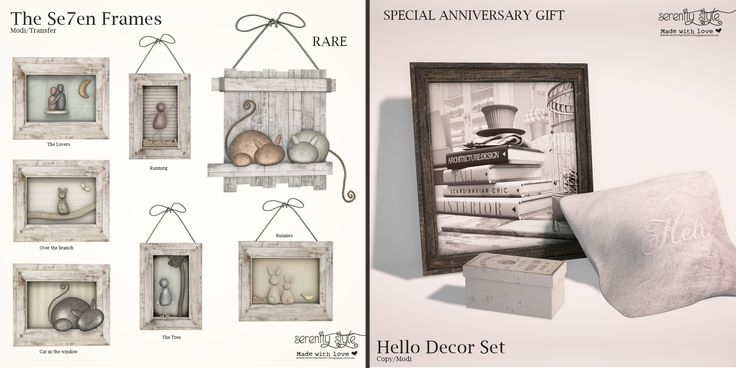 https://flic.kr/p/T3iFPY | Serenity Style- Exclusive Gacha and Gift for The Project Se7en | Serenity Style presents a new gacha collection exclusive for the incoming round of The Project Se7en   This round is special cause the event celebrate its Anniversary so customers could get lovely gifts too  Open from 30 on March