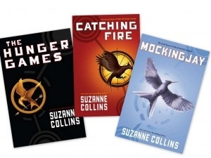 The Hunger Games Series....not just for kids.  A real page turner