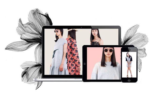 Die Kollektion Frühjahr/Sommer 2015 von Ioana Ciolacu ist nun online erhältlich