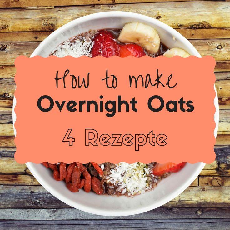 Du hast morgens kaum Zeit und magst es trotzdem gesund? Zum Glück gibt es Overnight Oats! Hier erfährst du das vegane Basisrezept und weitere Variationen.