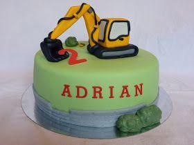 Adrian fyllde 2 år och önskemålen var Rorri Racerbil, Fåret Shaun och en grävmaskin. Det är roligt att modellera och faktiskt ganska bra, f...