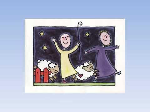 Het kindje in de stal- Liesbeth Slegers. Eenvoudige, moderne hervertelling van het kerstverhaal.