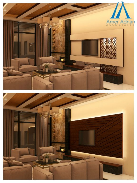 Modern TV Wall 3D Design Idea for Living Room to Increase Your #Home  Interior`