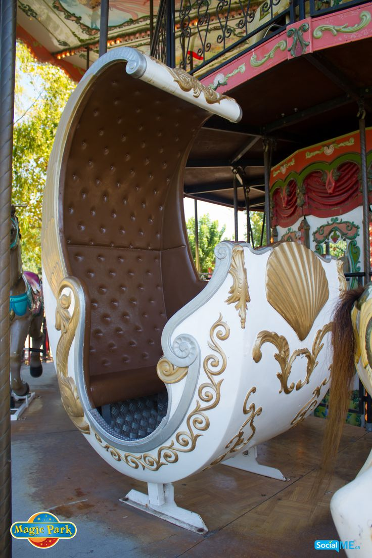 All aboard Magic Park's carousel! Ready for your royal ride?