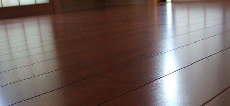 和室改修|床補強グランドピアノ購入のためのフローリング工事