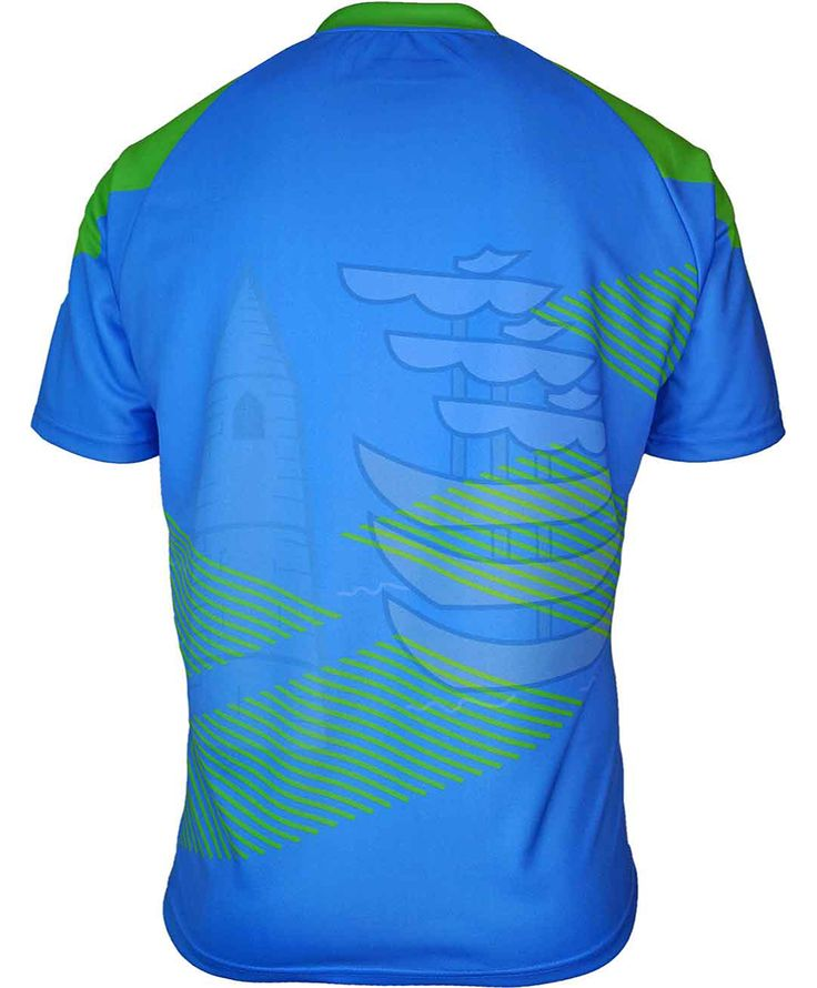 Azzurri Sport Waterford GAA Training Jersey - Back View