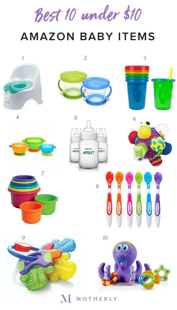 9cf3b8e695e4 The Best 10 Amazon Baby Items Under  10 To Buy Right Now