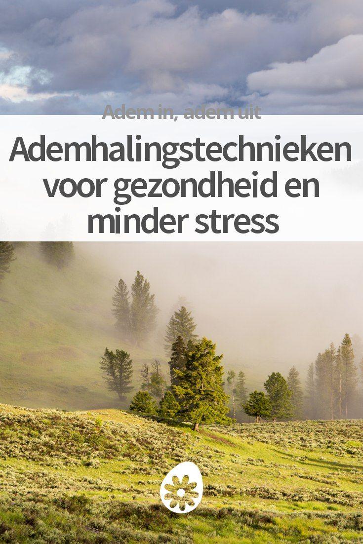 Ademhalingstechnieken voor gezondheid en minder stress