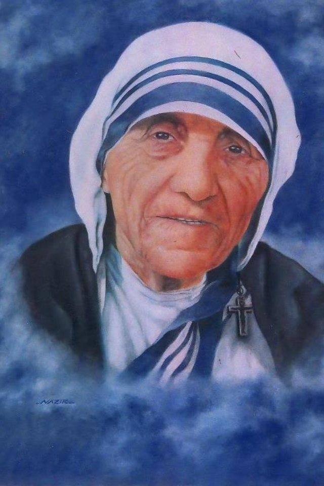Mother Teresa.  Come be my light.