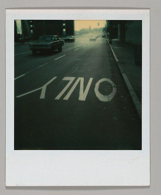Walker Evans - Polaroid - photography art