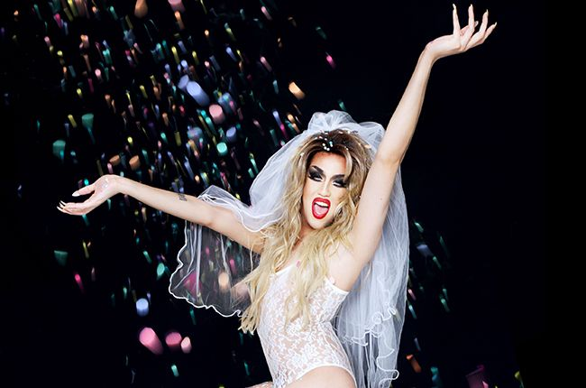 """Drag Queen Adore Delano Sets """"Drag Race"""" Chart Record On Billboard With The Biggest Sales Week of Any """"RuPaul's Drag Race"""" Competitor Ever! http://www.billboard.com/articles/news/6121126/adore-delano-rupauls-drag-race-chart-record"""