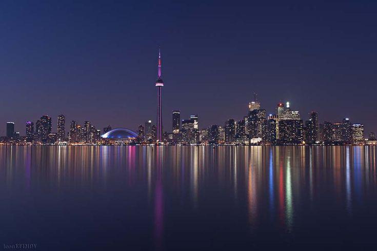 Toronto skyline. Canada by Leon Efimov