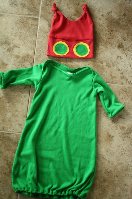 Kenda's Crafts: The Very Hungry Caterpillar costume