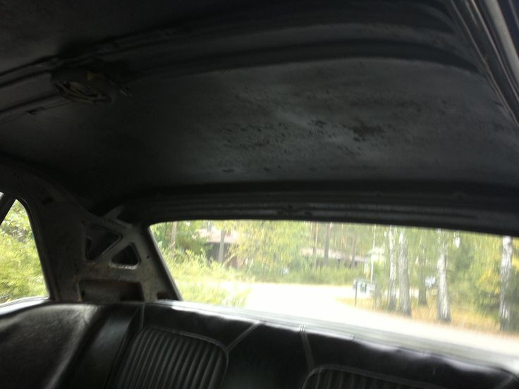 when got the car, it was without headliner