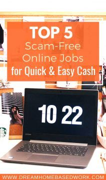 Top 5 Scam-Free Online Jobs for Quick and Easy Cash