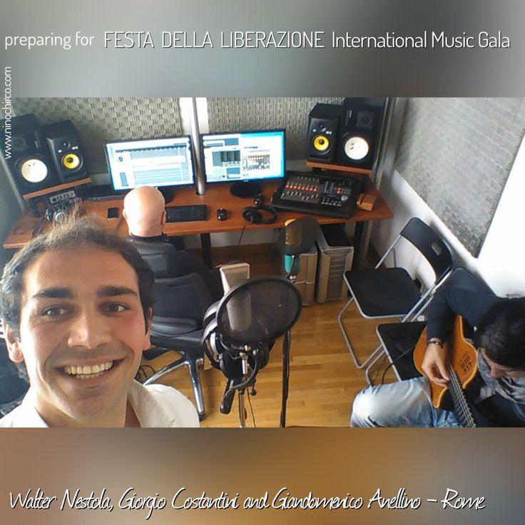 #Rome : preparing for #FestaDellaLiberazione International #MusicGala 2017 with: #The #Platters , #Iva #Zanicchi , #Paola #Gruppuso , #Amato #Scarpellino and #Walter #Nestola . #Giandomenico #Anellino , #Giorgio #Costantini #1blog4u #Gabriella #Ruggieri #SMM #Sergio #Bellotti