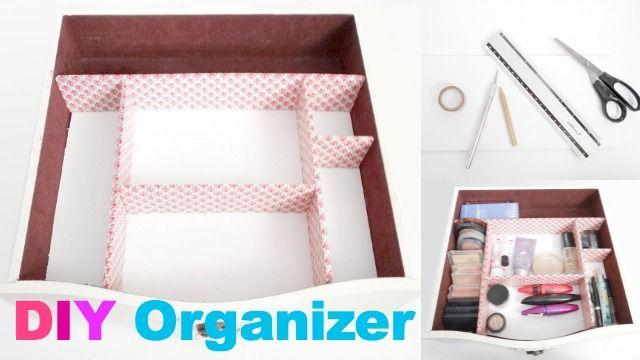 DIY Organizer voor make up lade on http://www.beautynailsfun.nl/2014/02/diy-organizer-voor-make-up-lade/