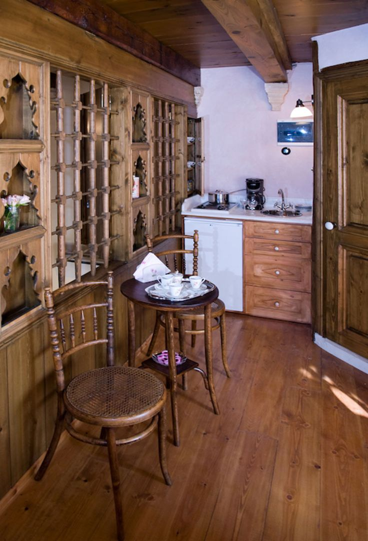 www.anassa-crete.gr Anassa Historical House #villa #historical_house #crete #rethymno #greece #vacation_rental #private #luxurious_accommodation #holidays #summer_in_Crete #coffee_table #kitchenette
