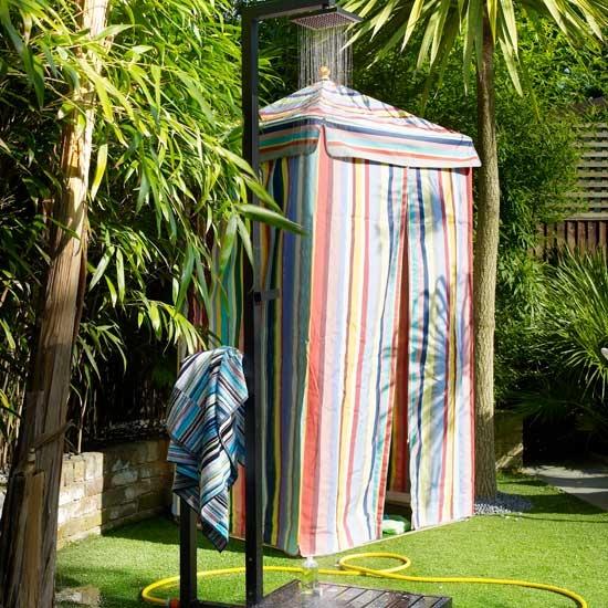 Fantastic Outdoor Shower