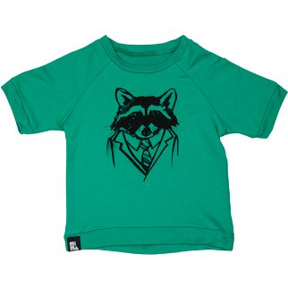 Mini and Maximus 'Taking Care of Business' Short Sleeve Sweat