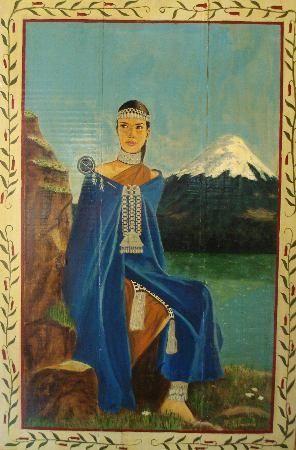 Mapuche. Girl.