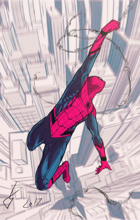Spider-Man: Homecoming by @eddart76