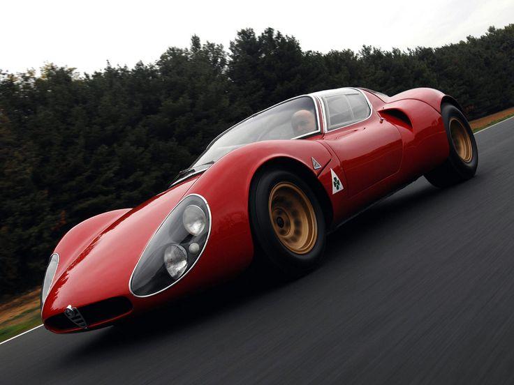Alfa Romeo Tipo 33 Stradale Prototipo 1967. Exotic CarsClassic CarsClassic  Sports ...