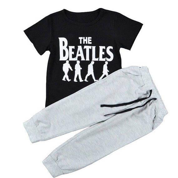 BEATLES TEE & TRACKIE Baby set