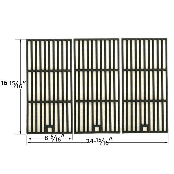 3 PACK CAST IRON COOKING GRID REPLACEMENT FOR MASTER CHEF T420LP, T440, KENMORE 415.16123801 AND KMART 640-641215405 GAS GRILL MODELS Fits Compatible Master Chef Models : 85-3004-2, 85-3005-0, 85-3062-2, 85-3063-0, G45101, G45102, G45104, G45105, G45123, G45124, S420LP, T420, T420LP, T440 Read More @http://www.grillpartszone.com/shopexd.asp?id=33995&sid=26071