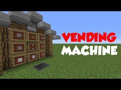 Minecraft 1.8: Redstone Tutorial - Vending Machine V2 (60fps) - YouTube