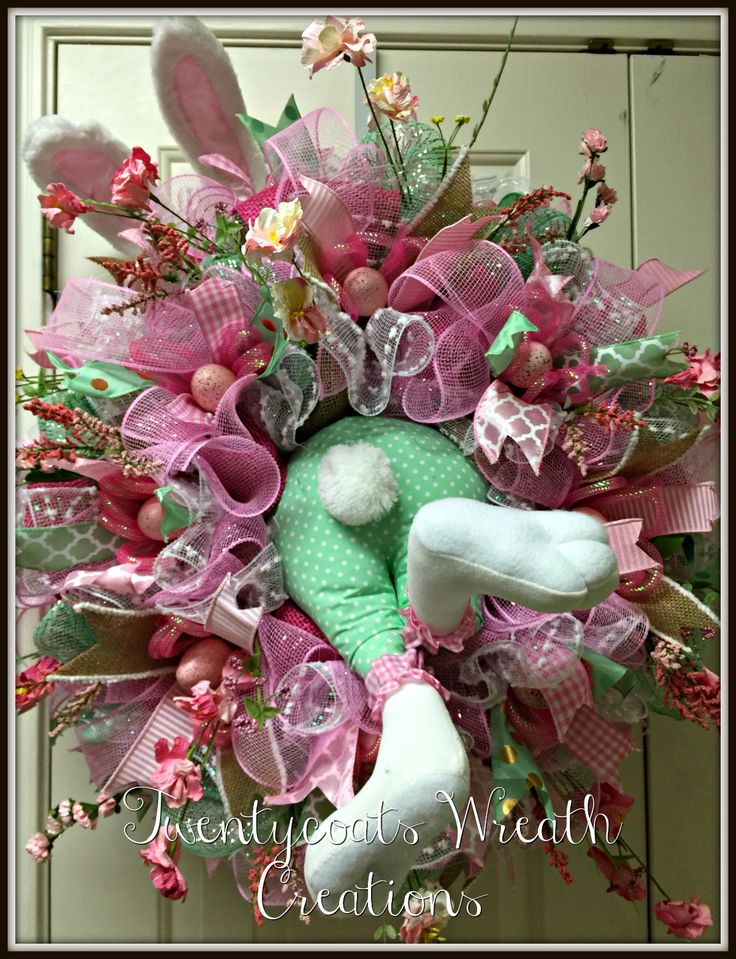 25 unique deco mesh wreaths ideas on pinterest mesh Making wreaths