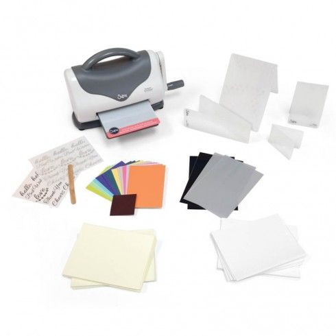 Sizzix Texture Boutique Embossing Machine con Kit iniciación - 661161
