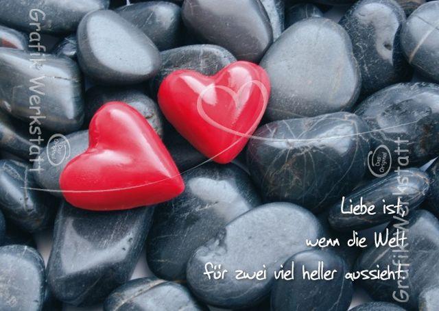 Liebe ist... - Postkarten - Grafik Werkstatt Bielefeld