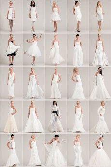 Hochzeitskleider Ueberblick