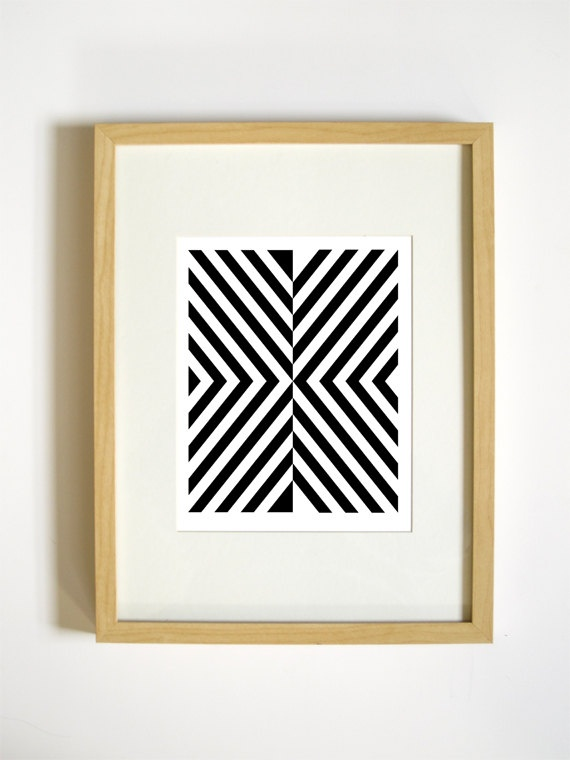 Modern graphic art prints large minimalist modern art print black vertical wall art matted and framed 5x7 8x10 11x14 16x20 18x24