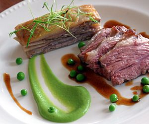 Recipe : Roasted Rump and Braised Shoulder of Lamb : Peterstone Court (300x250)
