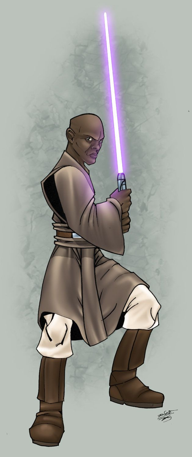 mace windu colour by thenota on DeviantArt