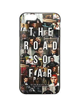 Supernatural The Road So Far iPhone 6 Case,