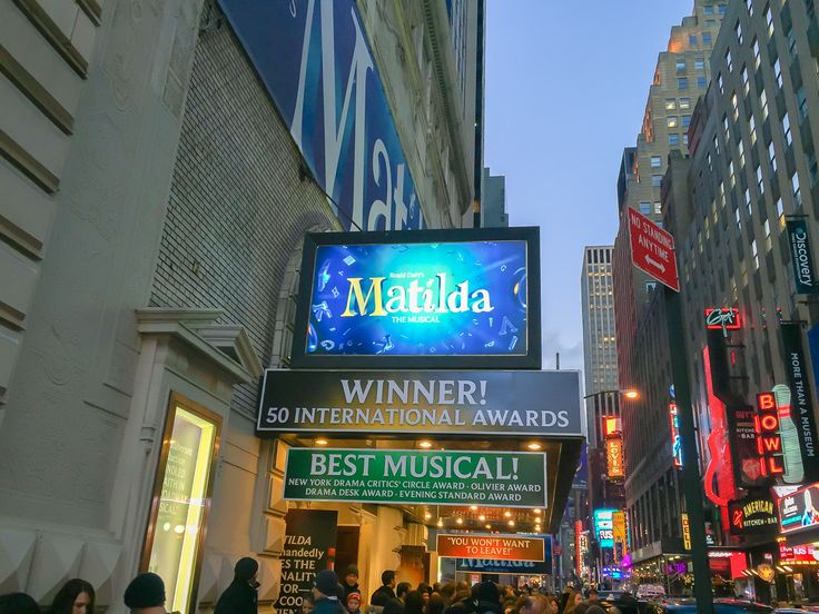 Matilda the Musical is a must-see show in New York City with kids, especially. Here's what we thought of the seats we booked and more. via @lajollamom