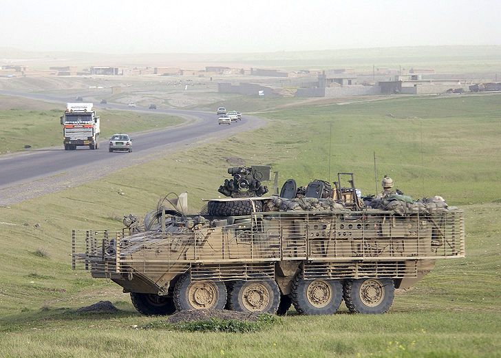 Military Vehicle Photos - M1126 Stryker Infantry Carrier Vehicle