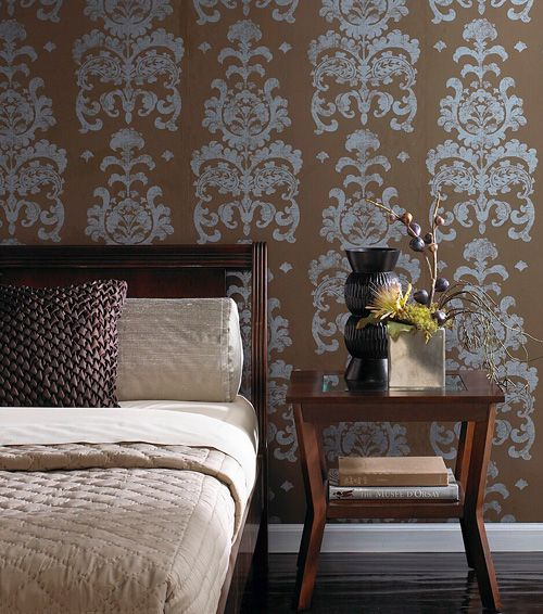 Wallpaper Ideas And Inspirations Tags: Accent Wall Accent Wall Ideas Accent  Wall Colors Accent Wallpaper Accent Wall Bedroom Accent Wall ...
