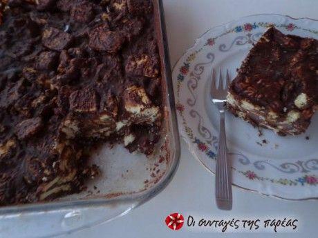 Σοκολατένιος κορμός (μωσαικό). Το πιο νόστιμο κι εύκολο γλυκάκι του καλοκαιριού (και όχι μόνο). Φέρνει μνήμες παιδικές και στιγμές ατελείωτης ευχαρίστησης!