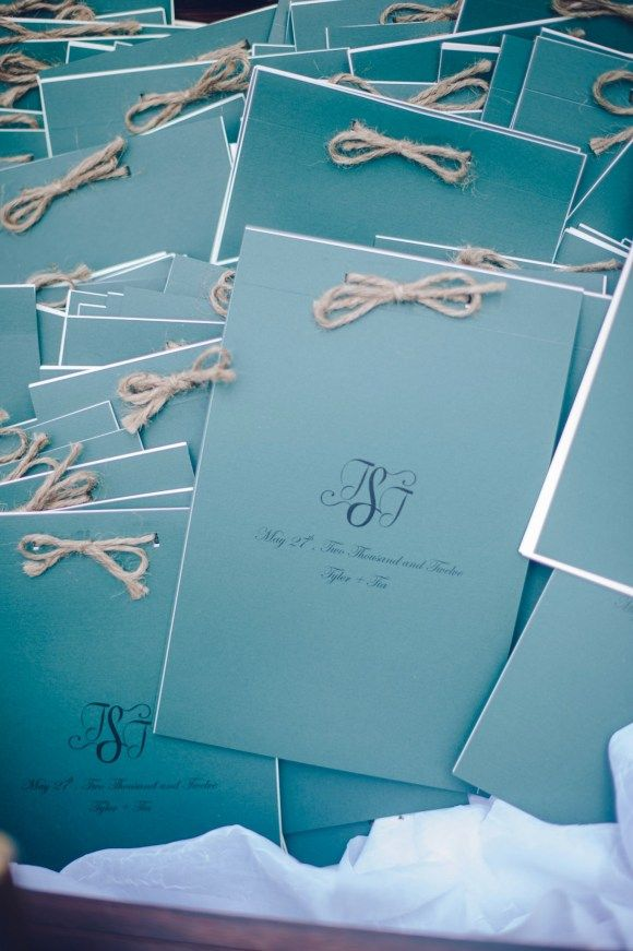 Programs: Wedding on a budget - details from my big day  [image by rebekah j murray photography]