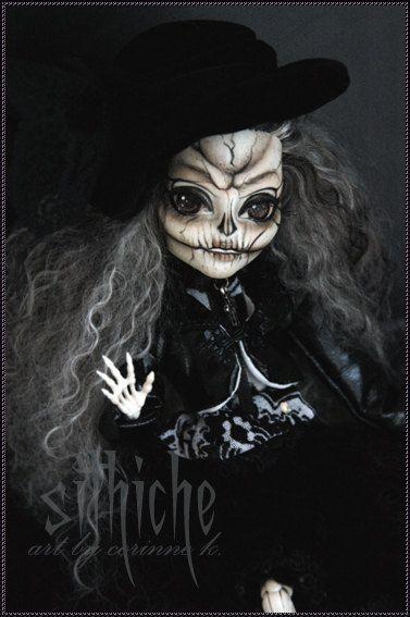 monsterhighdoll skelita by ateliersmallworld on etsy 15000 - Skelita Calaveras Halloween Costume